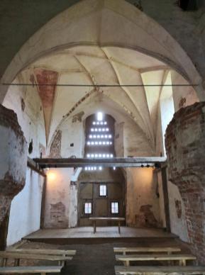 Innenraum der Burgkapelle