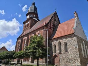 Die St. Marien-Kirche am nördlichen Rand der Altstadt