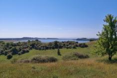 Blick vom Bakenberg auf den Zicker See