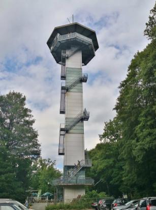 Der belgische Konig Boudewijntoren