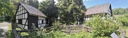 Höfe im Museumsdorf