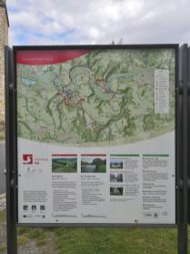 Wandertafel bei Blankenberg