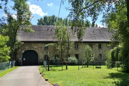 Zufahrt zur Wasserbrug Haus Graven