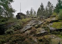 Triangulationspunkt am Wendelstein