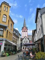 Blick von der Peterstraße zur Propsteikirche