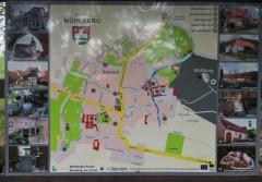 Stadtplan von Mühlberg