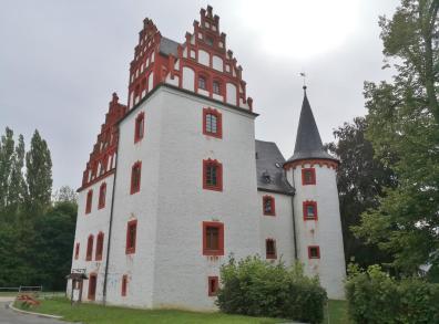 Das Schloss Netzschkau war eines der ersten Schlösser in Sachsen