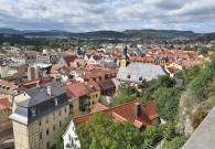 Blick vom Schlossgarten über die Altstadt