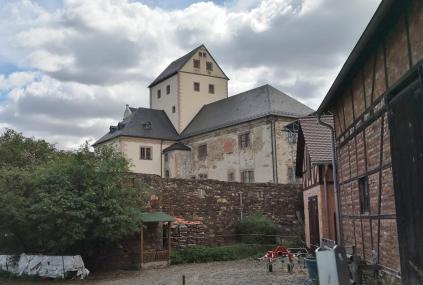 Rückseite des Klosters