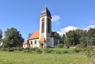 Die Lutherkirche Klingenthal-Brunndöbra