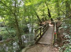 Brücke an der Düssel