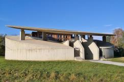 """Das von Raimund Abraham entworfene """"Haus der Musiker"""""""