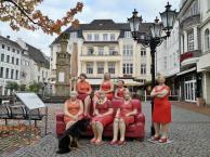 Figurengruppe am Alter Markt mit Doxi