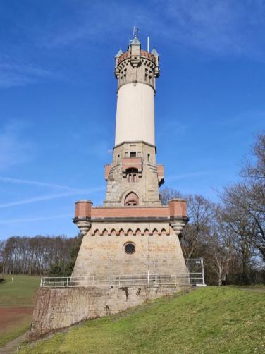 Der Harkortturm am Rande von Wetter/Ruhr oberhalb des Harkortsees