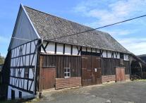 Historische Fachwerkscheune in Oeleroth