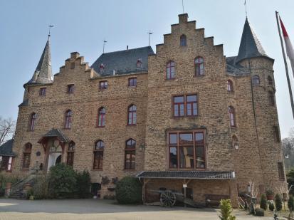 Haupthaus der Burg