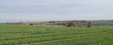 Blick von den Höhen bei Knittkuhl in Richtung Ratingen