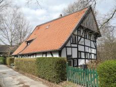 Hübsches Fachwerkhaus am Hornser Weg oberhalb des Hasselbachs