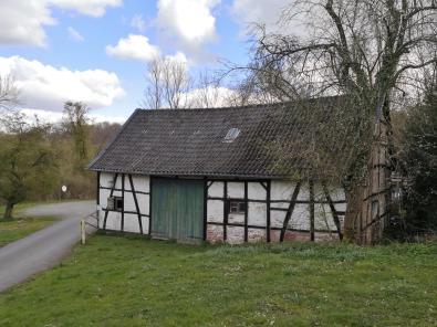 Scheune im Liebfrauenhof am Eingang zum Rumbachtal