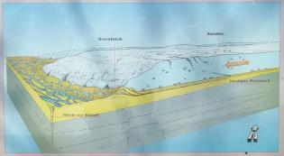 Genau bei Sonsbeck endete der Vormarsch der Gletscher in der Saaleeiszeit