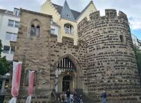 Das Sterntor - Rest der mittelalterlichen Stadtmauer in der Vivatsgasse