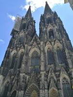 Frontseite des Kölner Doms