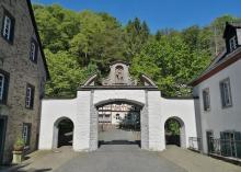 """""""Das Tor zur Abegeschlossenheit"""", ehemalige Klosterpforte"""