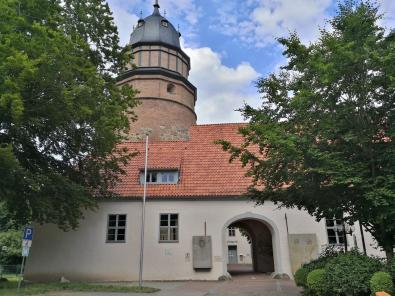 Zufahrt zum Schloss Diepholz, heute Sitz des Amtsgerichts