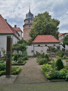 Grünanlagen hinter dem Schloss