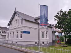 Schiffahrtsmuseum Unterweser im Haus Elsfleeth am Eingang zum Hafen