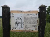 Infotafel an der ehemaligen Richtstädte auf dem Geyberg