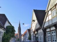 Blick durch die Altstadt zur St.-Marien-Kirche