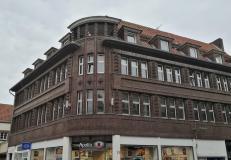 Haus aus den 1930er Jahren in der Haupteinkaufsstraße Emsstraße