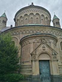 Eingang zur Sakristei im Chor