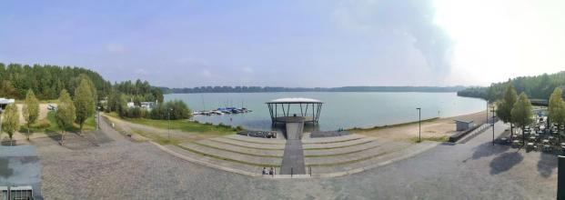 Panoramabild von der Seepromenade