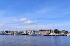 Yachthafen am Eemskanal