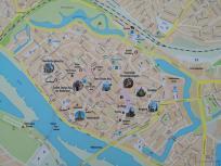 Stadtplan des historischen Deventer