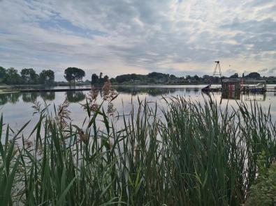 Freizeitsee im Erholungsgebiet Kardinge