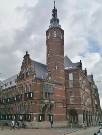 Turm des Provinciehuis