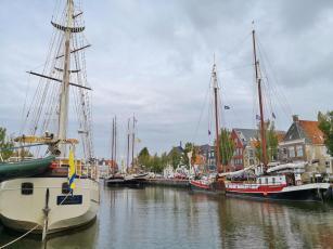 Schiffe im Zuiderhaven