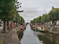 Boote in der Stadsgracht