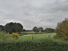 Park-ähnliche Landschaft im Fechtgebiet südöstlich von Hasselt