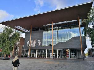 Das Friesische Landesmuseum am Wilhelminaplein