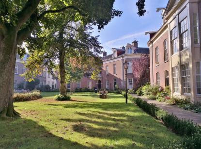 Garten im Oude Bornhof