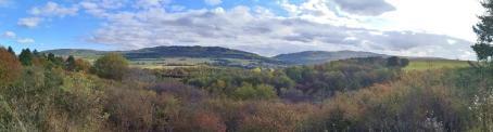 Panoramablick nach Südwesten in Richtung Soonwald