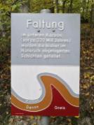 Die Faltungen der Erdkruste haben ganz unterschiedliche Gesteinsarten nach oben gebracht