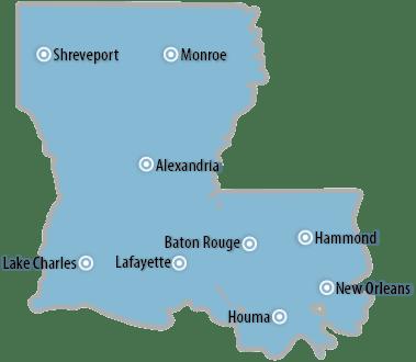Louisiana  Southwest Information Office  US Bureau of