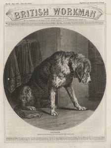 "Edwin Landseer, ""Suspense,"" ""British Workman"" 90 (June 1862): 358."