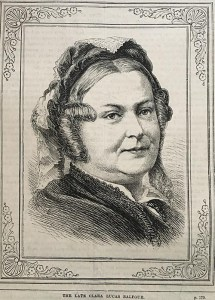 """""""The Late Clara Lucas Balfour."""" """"British Workman"""" 285 (Sept 1878): 180."""