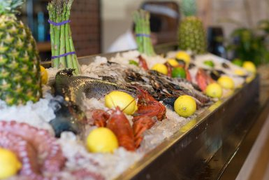 We offer fresh seafood daily